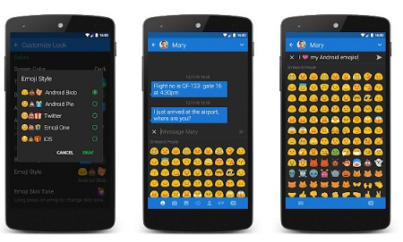 Textra Emoji - Android Blob Style