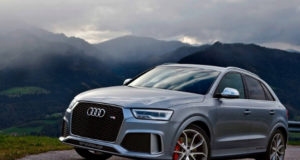 2019 Audi RS Q3 Making its Way through Heavy Snow
