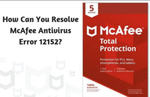 How Can You Resolve McAfee Antivirus Error 12152