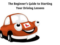 The Beginners Guide to Starting Your Driving Lessons