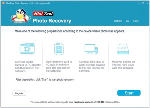 Use MiniTool Power Data Recovery