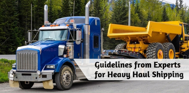 Guidelines from Experts for Heavy Haul Shipping