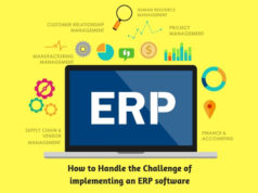 How to Handle the Challenge of implementing an ERP software