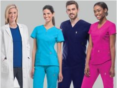 The medical scrubs
