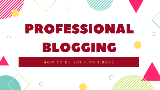 Professional blogging