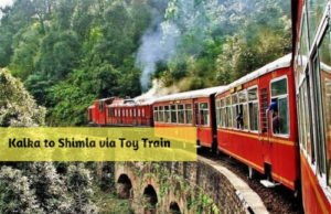 Kalka to Shimla via Toy Train