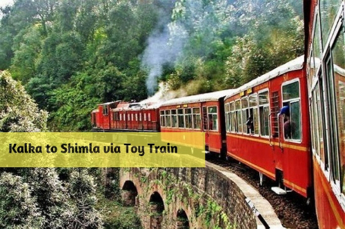 Kalka to Shimla via Toy Train