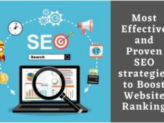 Most Effective and Proven SEO strategies to Boost Website Ranking