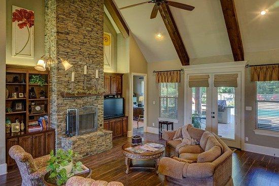 Matching indoor and outdoor spaces