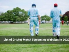 List of Cricket Match Streaming Websites In 2020