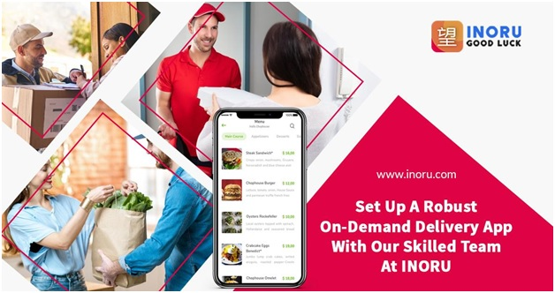 Feature-set of a Seamless On-Demand Delivery App
