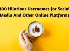 100 Hilarious Usernames for Social Media And Other Online Platforms