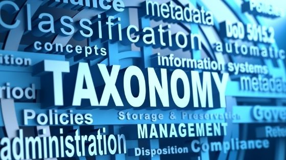 5 Major Parts of the Taxonomy