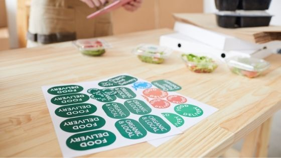 Boosting a Brand Using Stickers and Labels