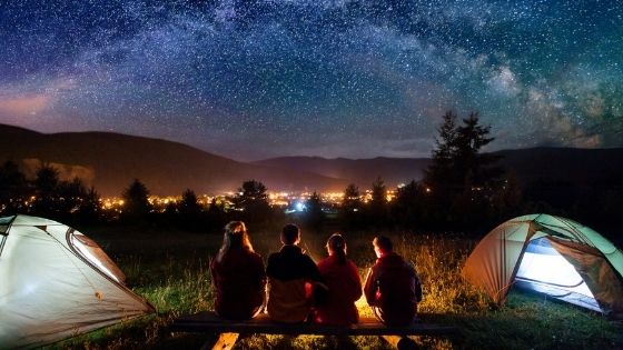 The Health Benefits of Camping with Your Family