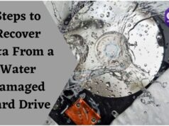 Steps to Recover Data From a Water Damaged Hard Drive