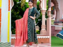 Look Glamorous And Elegant in Party Wear Suits With Dupattas