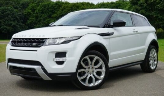 Range Rover Sport, an SUV with Strong Engine & Multiple Features
